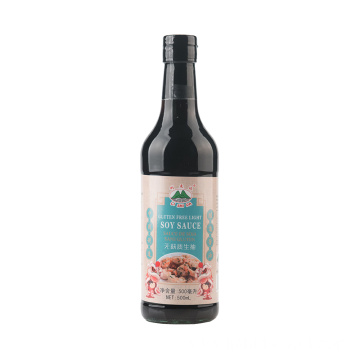 500ml Gluten Free Light Soy Sauce